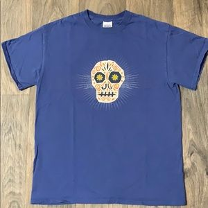 Purple day of the dead T shirt